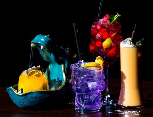 Меню летних напитков