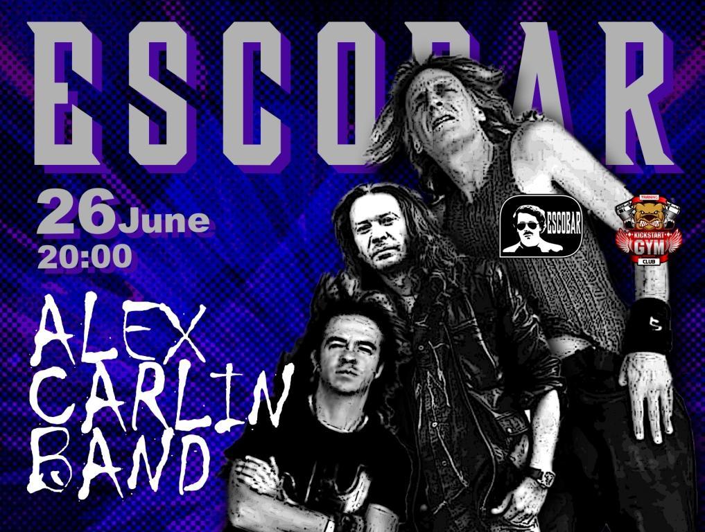 Alex Carlin Band в Эскобаре!